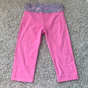 EUC Lilly Pulitzer cropped leggings